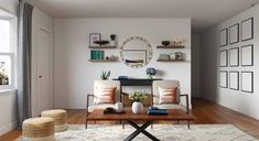 View this mid-century modern living room by Havenly designer Brady. Shop products and even start designing your own space! Mid Century Modern Living Room, Mid Century Modern Design, Modern Interior Design, Design Your Own, Midcentury Modern, Living Room Designs, Space, Shop, Design Ideas