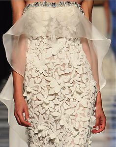 Tony Ward - this would be an AMAZING crochet piece!