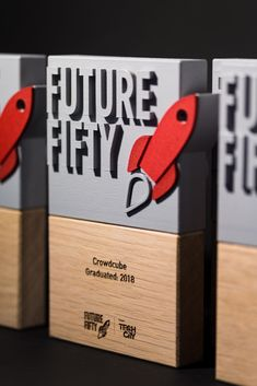 3D printed awards for the UK's leading program for late-stage digital businesses.