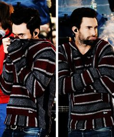 Adam Levine in a drug rug? How does it get better than that