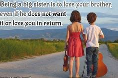 Sister Quotes Images, Sister Quotes Funny, Sister Sayings, Cute Sister, Love My Sister, Brother Sister, Bob Marley, Message For Brother, Fresh Quotes