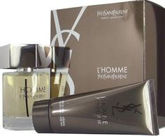 Yves Saint Laurent L'Homme 2 pc Gift Set Men by Yves Saint Laurent. $61.99. 2 Pc. Gift Set ( Edt Spray 3.3 Oz & All Over Shower Gel 3.3 Oz ) for Men. All our fragrances are 100% originals by their original designers. We do not sell any knockoffs or immitations.. We offer many great sales and discounts making this fragrance cheaper than at department stores.. L'homme Yves Saint Laurent Cologne for Men 2 Pc. Gift Set ( Edt Spray 3.3 Oz & All Over Shower Gel 3.3 Oz )...