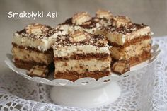 Ciasto LION – musisz go spróbować! Tiramisu, Lion, Ethnic Recipes, Sweet, Layer Cakes, Drink, Rezepte, Leo, Lions