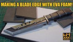 Making a Blade Edge With Foam