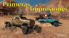 Crossout Beta Tutorial con Bots Gameplay Español