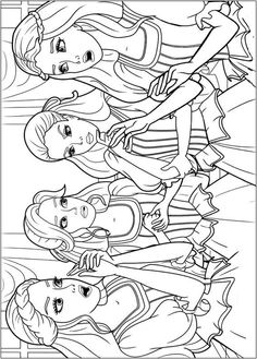 Barbie Musketeers 10 Coloring Pages Printable And Book To Print For Free Find More Online Kids Adults Of