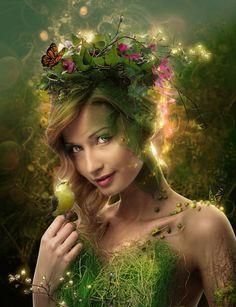 *+*Mystickal Faerie Folke*+*...Spring Has Come By Artist IgnisFatuusII...