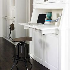 Traditional Kitchen kitchen desk Design Ideas, Pictures, Remodel and Decor