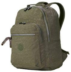 9d8e06475db Kipling Seoul Large Backpack with Laptop Protection - Forest Green Kipling,.