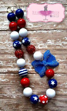 Kids Jewelry, Jewelry Accessories, Women Jewelry, Jewelry Ideas, Chunky Bead Necklaces, Chunky Beads, Beaded Ornaments, Ornament Wreath, Diy Necklace
