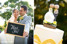 DIY Wedding Cake Topper #wedding #cake