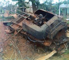 ZSU-57-2 Vietnam War 1972