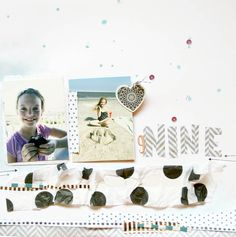 Hiya! I'm still going strong with that Felicity Jane kit I purchased a while back... Here is the latest page... Complete with inter...