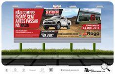 Exibição em outdoores iluminados em Avaré - SP para Naga Motors Mitsubishi #naga #valim #outdoor #brasil #mitsubishi