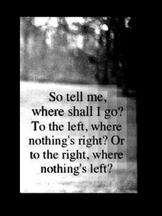 Where to go - left or right ???