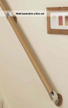 Wall handrail in a box set