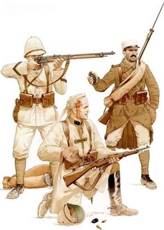 The Legion in North Africa Military Art, Military History, Military Uniforms, Army Uniform, French Armed Forces, French Foreign Legion, French Colonial, French Army, Dieselpunk