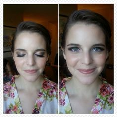 #bride #makeup #natural #wedding done by @Kristin Foreman