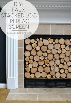 How to Decorate with Fireplace Mantels - Hammers N Hugs # fireplace cover, How to Decorate with Fireplace Mantels