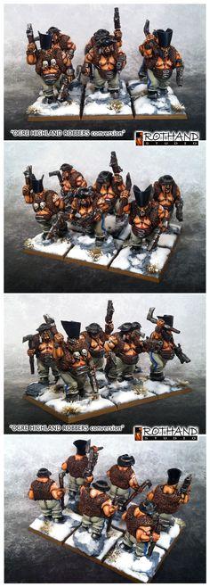 Ogres highlander robbers maneters conversion