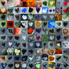 One Hundred and One Hearts Photograph