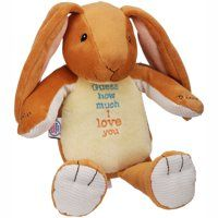 Recordable Teddy Bear Walmart, Guess How Much I Love You Recordable Plush Animal Plush Toys Animals Plush