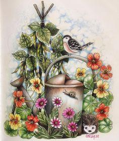 #mariatrolle#coloringforadults#twilightgarden#nightfallgiveaway#blomstermandala