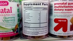 Sure, prenatal gummy vitamins are easier to take than those prenatal horsepills Tina Fey and Amy Poehler spoofed in 'Baby Mama.' But do they have sufficient nutrients for a pregnant woman?