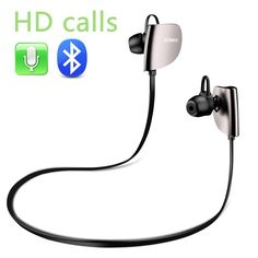 a2bc1b32dbc Amazon.com: Joway H07 Wireless Sport Bluetooth Headphones Noise Cancelling  Headsets HD Stereo In