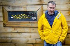 Marc Brunet: deux Marc, c'est mieux qu'un Rain Jacket, Windbreaker, Raincoat, Artists, Jackets, Fashion, Beginning Sounds, Rain Gear, Rain Gear
