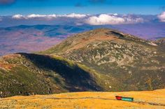 MOUNT WASHINGTON COG RAILWAY | MOUNT WASHINGTON, NEW HAMPSHIRE  The best way to reach the top of Mount Washington -- the tallest peak in New England -- is via this National Historic Engineering Landmark, the world's first-constructed and second-steepest rack-and-pinion railway. The ride is slow but scenic, with the magnificent views varying based on the season, and ends at a summit featuring a snack bar, gift shops and a weather museum.