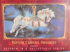 Breyer Neptune Carousel Ornament-Christmas in July-SALE PRICE