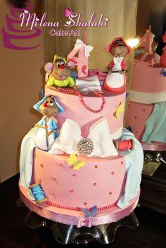 Cinderella - Cake by Milena Shalabi
