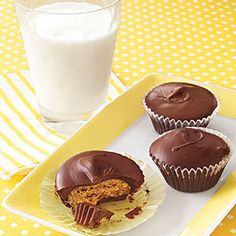 Peanut Butter Cups | MyRecipes.com