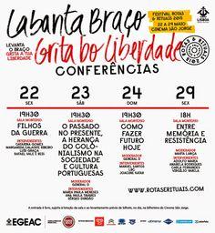 Luís Graça & Camaradas da Guiné: Guiné  63/74 - P14634: Agenda cultural (399): 8ª e...