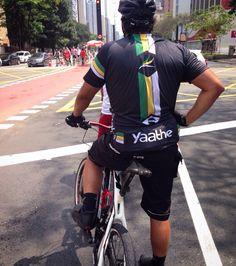 Yaathe cycle jersey.