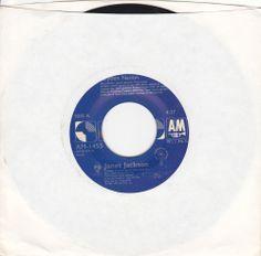 "Janet Jackson / Rhythm Nation (2 Versions) / RARE 7"" Vinyl 45 RPM Jukebox Record / MINT / R&B Music"