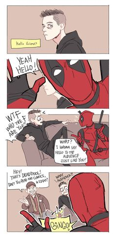 Mr.Robot n Deadpool by Hallpen on DeviantArt