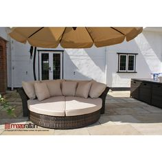 The Bali Daybed offers something for every occasion. It is an amazing space saver and can be folded away. Transform this daybed into chic seating too! Outdoor Furniture, Outdoor Sectional Sofa, Outdoor Bed, Outdoor Decor, Rattan Daybed, Daybed, Outdoor Sofa, Rattan, Amazing Spaces