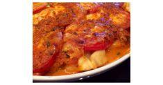 Tomate-Mozzarella-Auflauf mit Tortellini