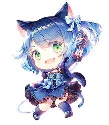 COM: Tsunyandere - Yami by Tonowa on DeviantArt Kawaii Neko Girl, Cute Anime Chibi, I Really Love You, Dear God, Character Illustration, Cute Drawings, Cool Art, Colours, Deviantart