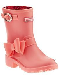 Juicy Couture Giselle Kid (Toddler/Youth) rain boots. oooh my gosh these are so cute, if they had them in adult sizes i would wear them!