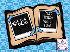 Speech Time Fun: #tbt Past Tense Verbs Fun!! Pinned by SOS Inc. Resources. Follow all our boards at pinterest.com/sostherapy/ for therapy resources.