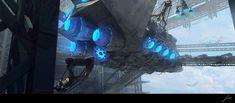 Futuristic Illustration by JP Rasanen