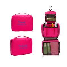 ลดราคา  กระเป๋าจัดระเบียบอุปกรณ์อาบน้ำและเครื่องสำอาง มีที่แขวนใช้งานสะดวก(สีชมพู)  ราคาเพียง  139 บาท  เท่านั้น คุณสมบัติ มีดังนี้ กระเป๋าอเนกประสงค์สำหรับใส่อุปกรณ์อาบน้ำ ของใช้ส่วนตัวต่างๆมีที่แขวนไม่ต้องวางให้เปียกน้ำ&จัดเก็บของให้เป็นระเบียบง่ายต่อการหยิบใช้งานประหยัดพื้นที่กระเป๋าพกพาสะดวกใช้แขวนในห้องน้ำหรือที่ต่างๆใส่อุปกรณอาบน้ำเช่น ครีม,แชมพู,แปลงสีฟัน ยาสีฟัน