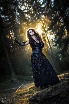 Harry Potter: Bellatrix cosplay by Alvi on DeviantArt