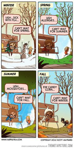 lol! living in Chicago i luv all the seasons & can proudly say I'm the one in the back!!!