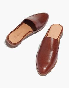da9d8cc73bd The Frances Loafer Mule in Leather