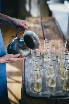 Sage Ginger Prosecco Cocktails Recipe by Beth Kirby