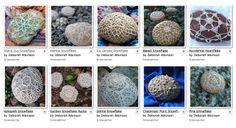 10 FREE #Crochet Snowflake Rock Patterns @aboutathome @aboutdotcom
